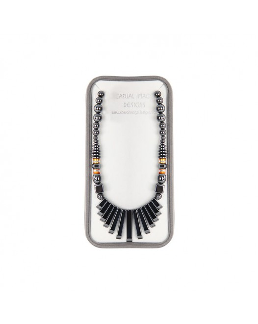 Women Crystal Alloy Necklace besides seperate dollar with Gift Box