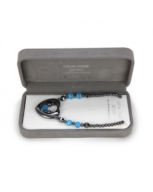 Women Comanche Crystal Alloy Necklace along dollar with Gift Box